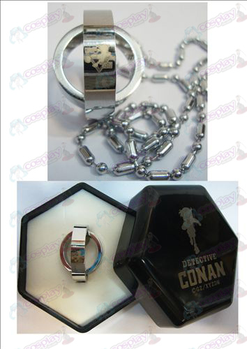 Conan 16 Anniversary dubbele ring ketting