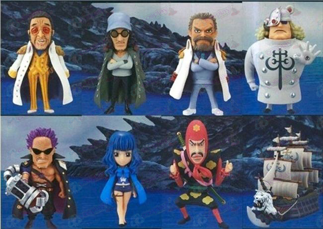 83 namens acht One Piece Accessoires Doll