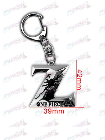 One Piece AccessoriesZ logo sleutelhanger