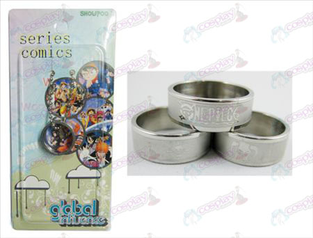 One Piece Accessoires Aiskaer gemonteerd frosted Ring