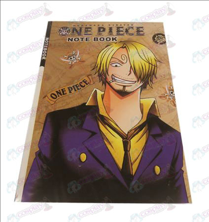 Sanji One Piece Accessoires Notebook