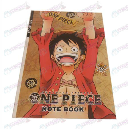 Luffy One Piece Accessoires Notebook