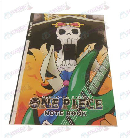 One Piece Accessoires Brook notebook