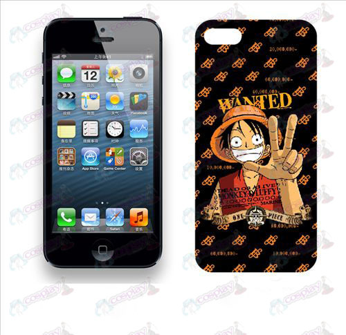 Apple iphone5 telefoon shell 016 (piraten)
