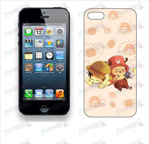 Apple iphone5 telefoon shell 012 (piraten)