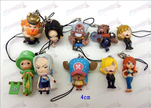 10 One Piece Accessoires Toy Machine Rope