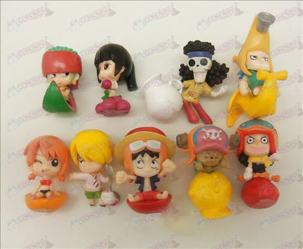 9 One Piece Accessoires Doll