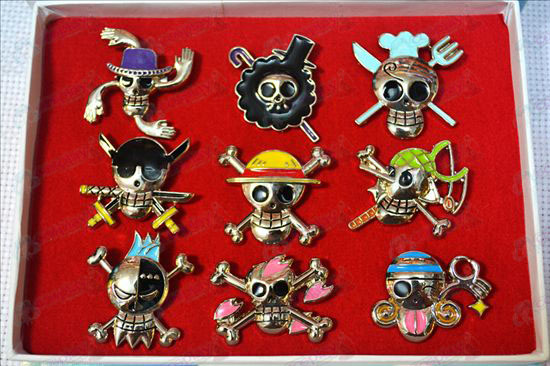 One Piece Accessories9 modellen broche
