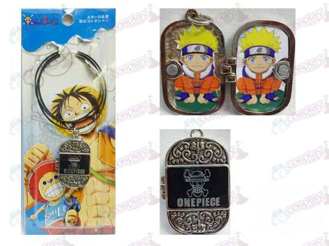 One Piece Accessoires Photo Frame-serie stalen ketting