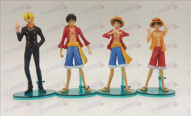 4 modellen Genuine One Piece Accessoires doll base (14cm)