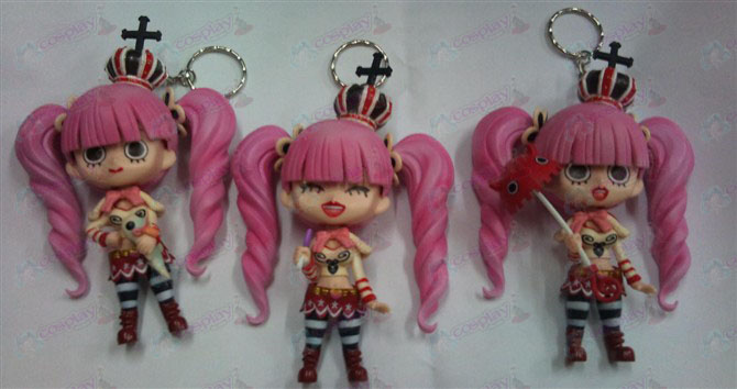 3 Perona piraten Keychain