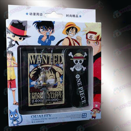 Kruis ketting co-loaded wallet - Luffy Wanted