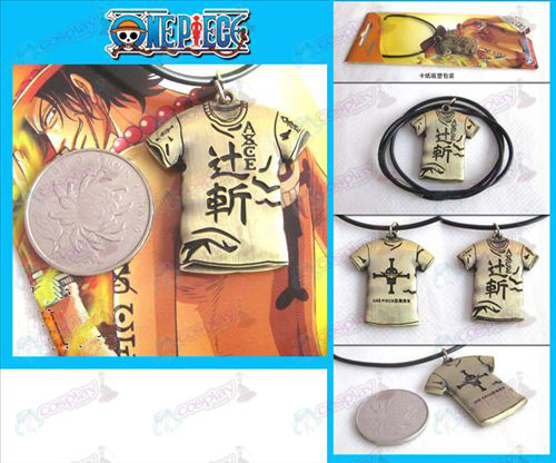 One Piece Accessoires Kleding ketting