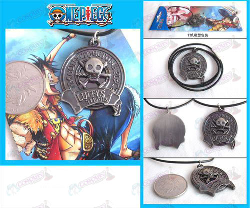 One Piece Accessoires logo ketting