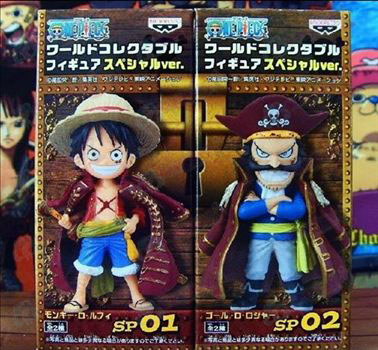 One Piece Accessoires Special Edition + Roger Q Luffy pop