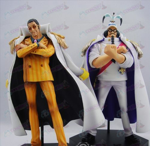 One Piece AccessoriesDX Strijdende Staten Marshal + generaals Kizaru