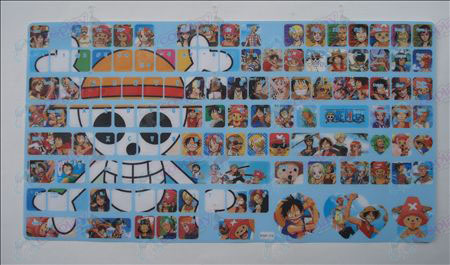 One Piece Accessoires toetsenbord stickers