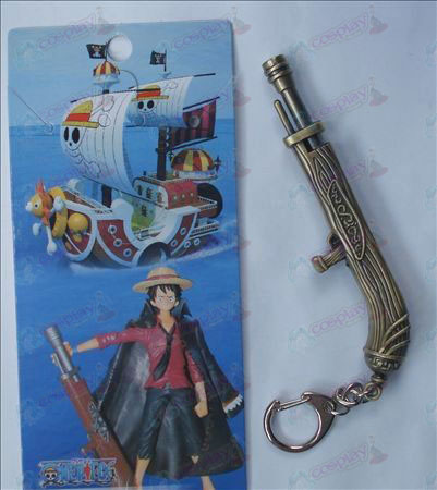 One Piece Accessoires Luffy kanon Sleutelhanger