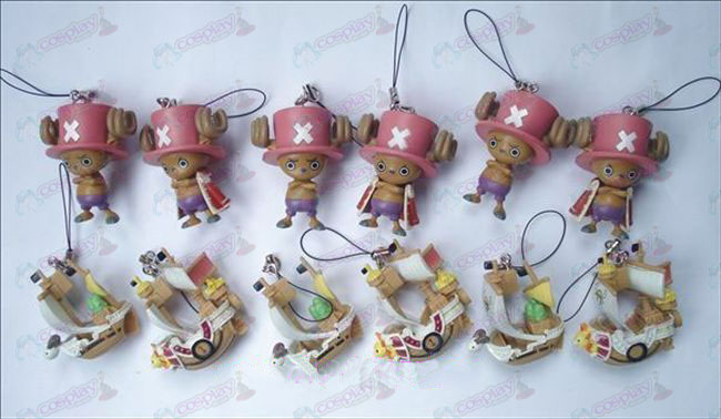 12 27 Generation One Piece Accessoires Chopper + boot (12 / set)