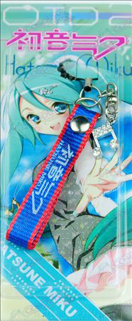 Kaart geïnstalleerd Hatsune Strap Diamond notities