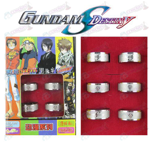 Gundam Accessoires Frosted Ring (6 / set)