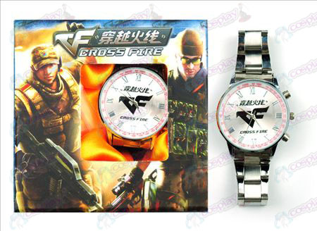 CrossFire Accessoires logo Watch (Rood)