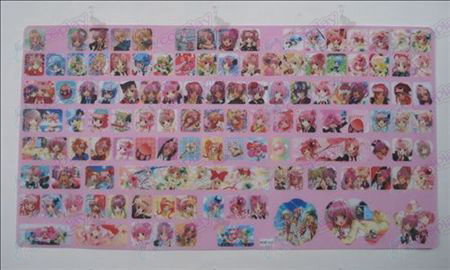 Shugo Chara! Accessoires keyboard stickers