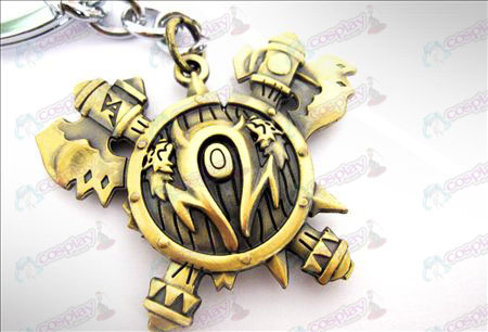 World of Warcraft Accessoires Orcs Keychain