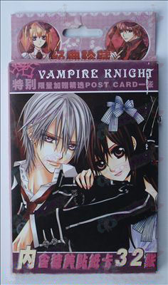 32 Vampire knight Accessoires Stickers