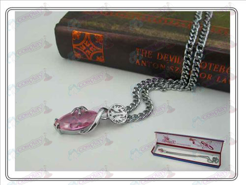 Final Fantasy Accessoires Collector's Edition hardcover Ketting (Roze)