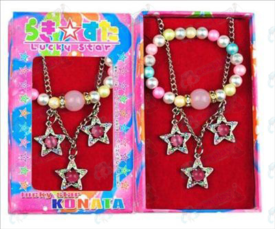Lucky Star Accessoires drie hanger ketting + armband (box)