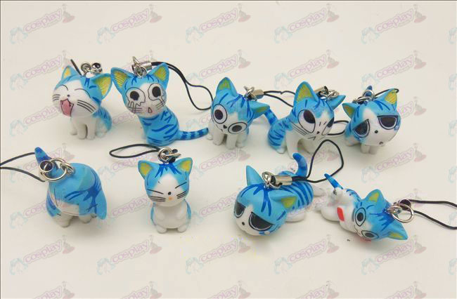 9 Sweet Cat Accessoires Toy Machine Strap (Blauw)