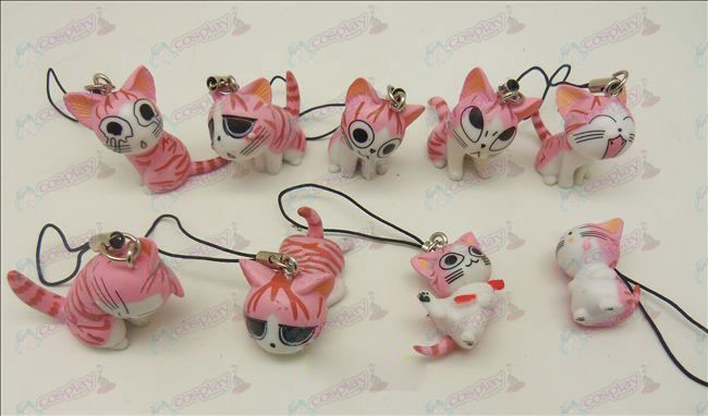 9 Sweet Cat Accessoires Toy Machine Band (Pink)
