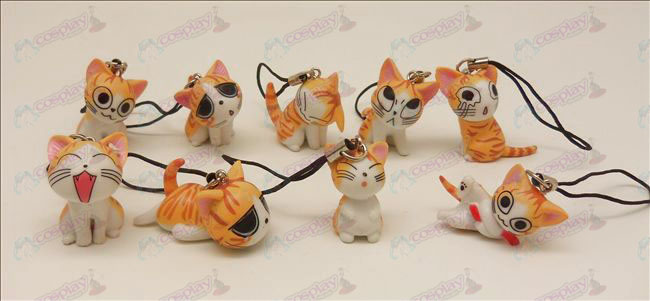 9 Sweet Cat Accessoires Machine Band (Orange)