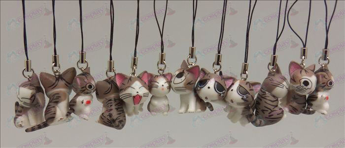 12 Sweet Cat Accessoires Toy Machine Band (Grijs)