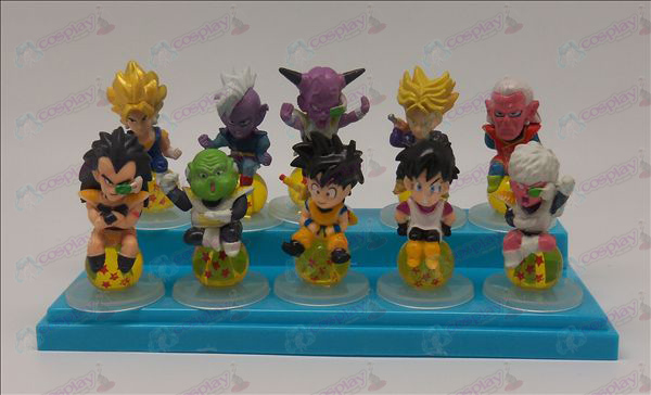 10 sit Pearl Dragon Ball Accessoires Base 2