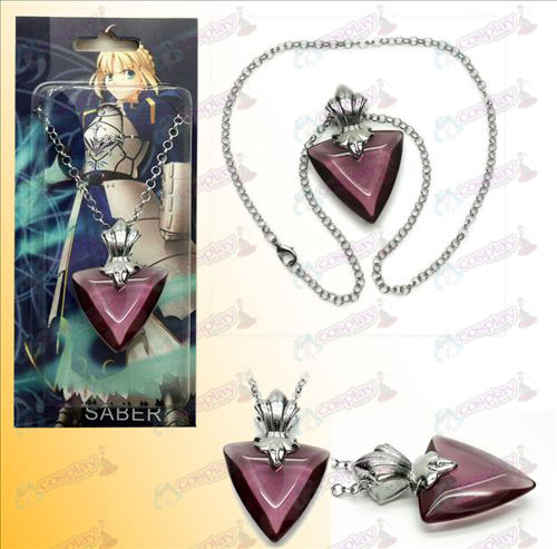 Steins; Gate accessoires ketting paars
