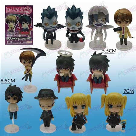 11 Death Note AccessoriesQ Versie verdieping doll (sets)