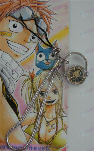 Black Steel Ring Strap Fairy Tail Accessoires goud