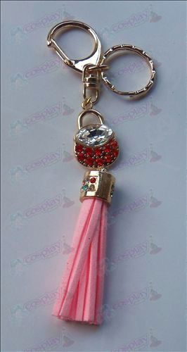 Fruits Basket Accessoires Red Diamond Keychain