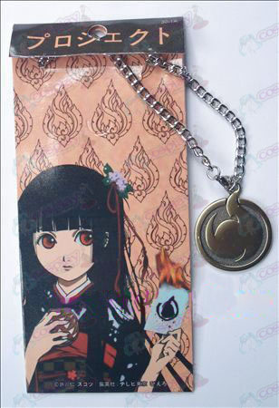 Hell Girl Accessoires reïncarnatie ketting 30-1A (brons)