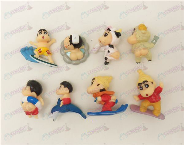 Acht Crayon Shin-chan Accessoires Doll