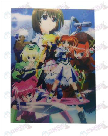 Stereoscopische prints (Magical Girl Accessoires) Zhang