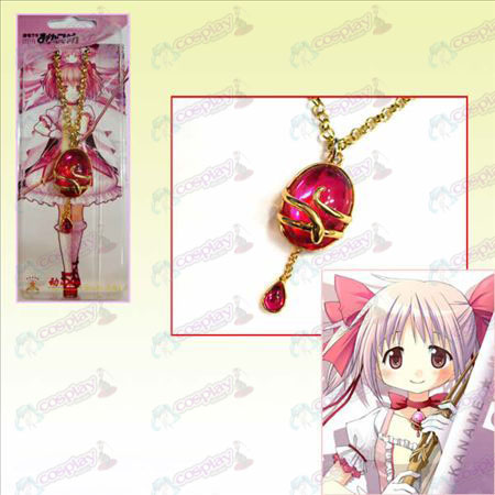 Magical Girl Accessoires kleine ronde edelsteen ketting