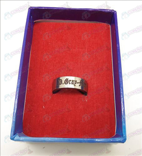D.Gray-man Accessoires wit stalen roterende ring