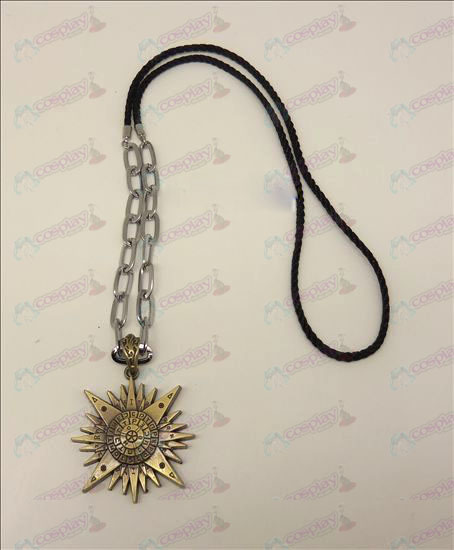 DD.Gray-man Accessoires logo punk lange ketting (brons)
