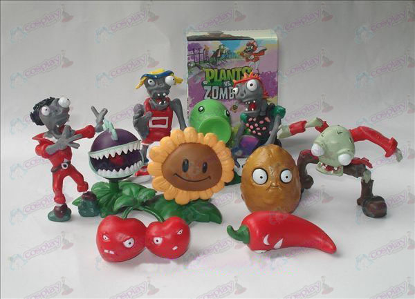 10 Plants vs Zombies Accessoires (boxed) Doll