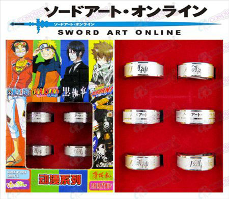Sword Art Online Accessoires Frosted Ring (6 / set)