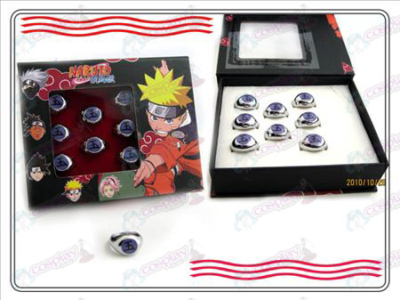 Naruto Xiao Organisatie boxed (Yu) Word Ring