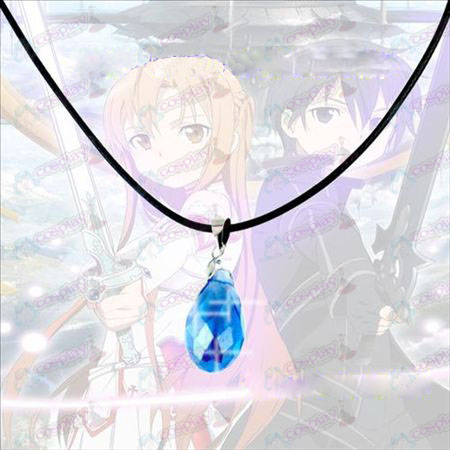 Sword Art Online Accessoires Yui Heart Crystal Ketting